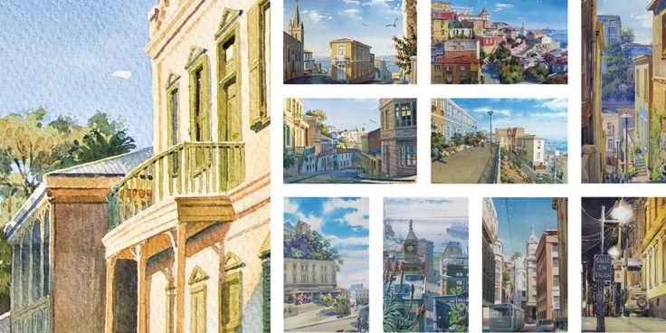 VALPARAISO. Calles, plazas, miradores.