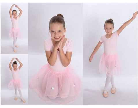 These Pink Tutus are only 75¢ on Amazon and are perfect party favors for a Ballet Birthday Party.