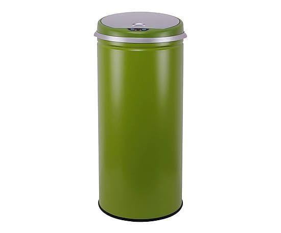 Poubelle automatique AUTO NEW ROUND, vert - 42 L  http://www.homelisty.com/vente-privee-poubelles-de-cuisine-kitchen-move-westwing/