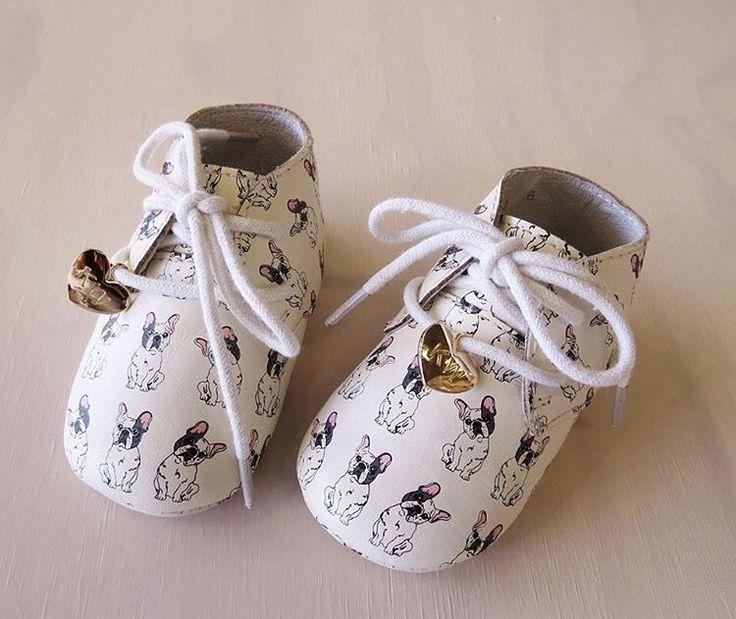 Baby Wilson by Kathryn Wilson - bulldog shoes! Loveeeeeeeee