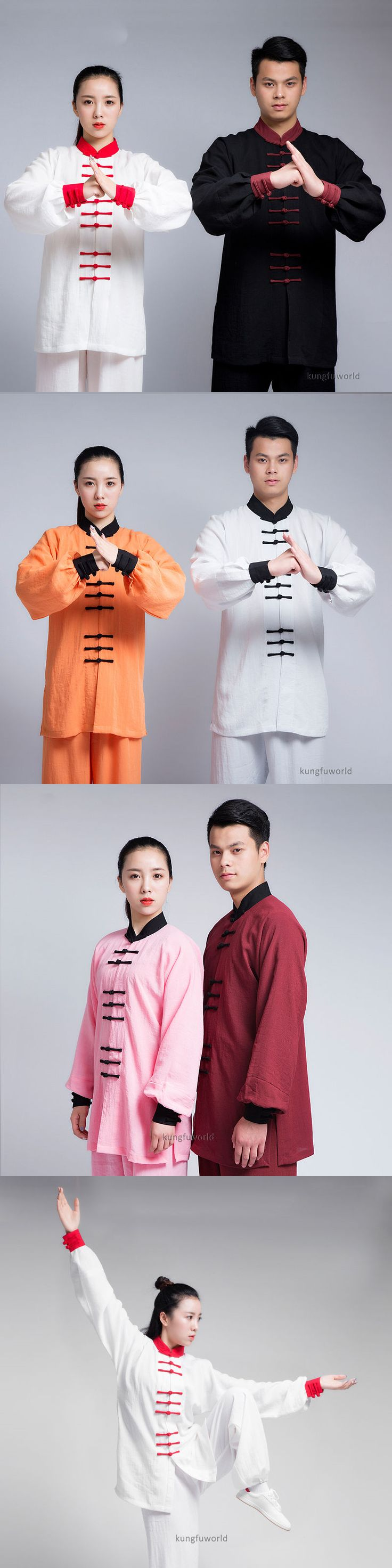 Robes 179773: High Quality Kung Fu Tai Chi Uniform Martial Arts Wing Chun Wushu Training Suit -> BUY IT NOW ONLY: $88 on eBay!