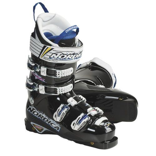 Nordica Dobermann Pro Edt 130 Ski Boots For Men And Women Black - Alpine Skiing Boots