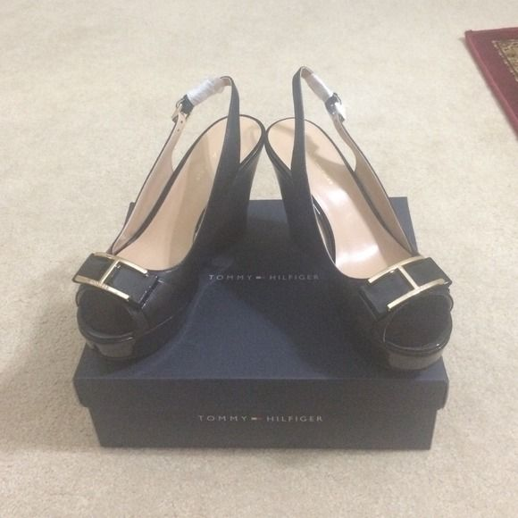Tommy Hilfiger Platform Wedges Shoes They are essentially high-heels. Tommy Hilfiger Shoes Platforms