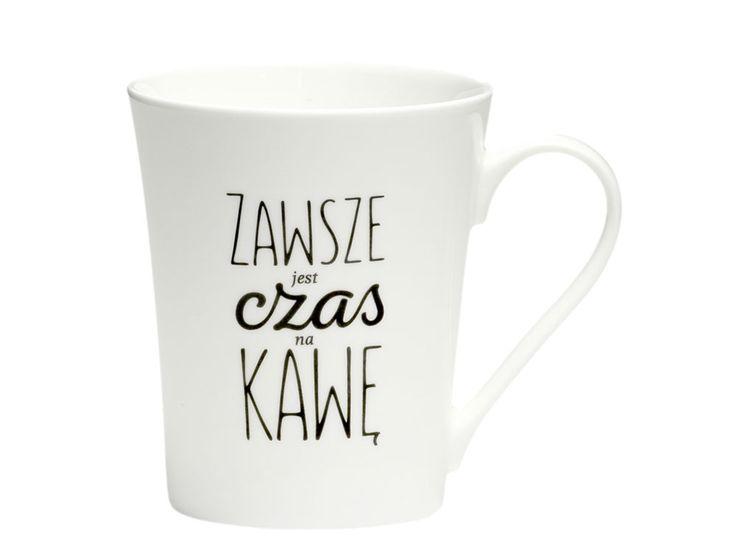 Kubek Coffee Czas na kawę 370 ml AMBITION