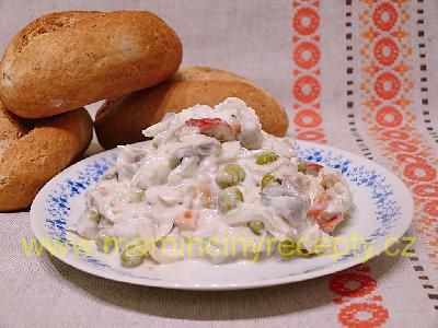 Rybí salát s Kunovjankou