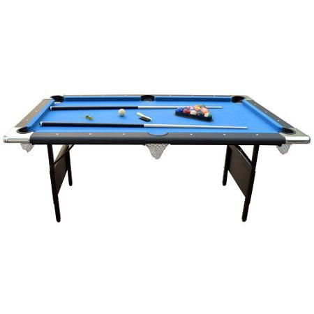 Hathaway Games Fairmont 6' Portable Pool Table - Walmart.com