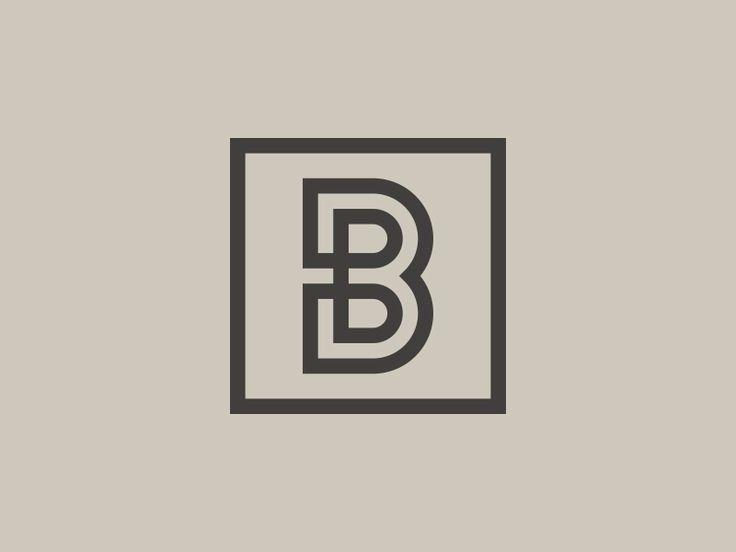 Connecting B by Tavish Calico #logo #fonts #lettering #calligraphy #creative #ideas #inspiration #JablonskiMarketing
