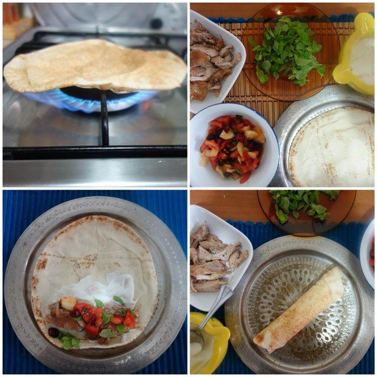Shawarma ad-dajaj شاورما الدجاج (Lebanese Chicken Shawarma)