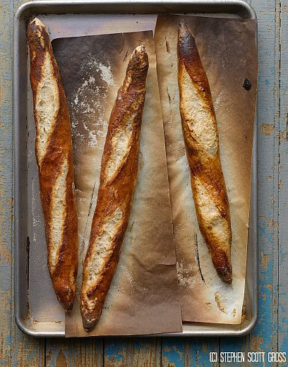 Gluten Free Baguette from Gluten Free Artisan Bread in Five Minutes a Day   Bob's Red Mill