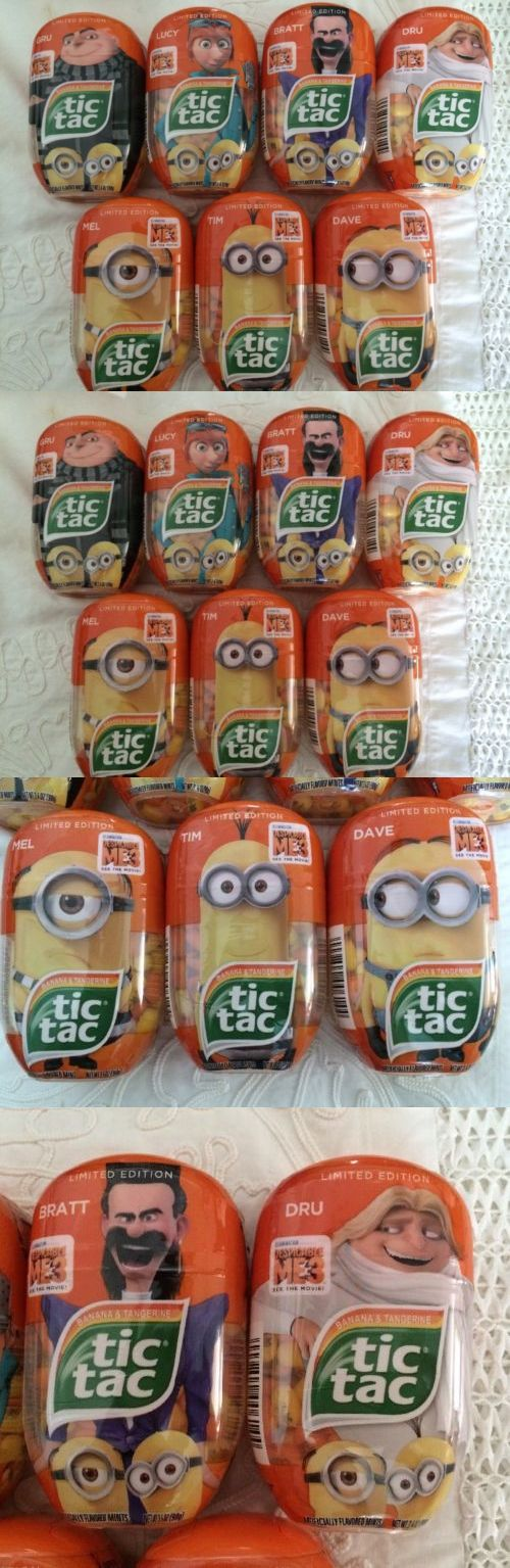 Mints 115717: New Tic Tac Despicable Me 3 2017 Minions Limited Edition Set Of 7 -> BUY IT NOW ONLY: $35.99 on eBay!