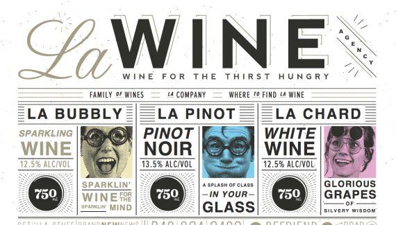 La Wine Agency - love this retro & typographic site design: Webdesign, Design Inspiration, Web Design, Wine Agency, Graphics Design, Typography, La Wine, Designinspiration, Website Designs