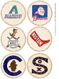 Retro Baseball Party for dads, grads, andbirthdays - Second City Soiree - Culture - Food - Style. Plus home entertaining and party planning