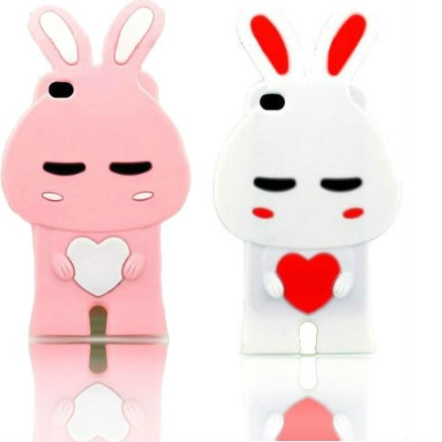 Pink and white silicone bunny iPhone 4 cases (compatible with all models of the iPhone 4) for $10.86: Cases Compatible, Boudoir Photography, Cat, Fashion, 2011 Ford, Wedding, Iphone 4 Cases, Silicone Bunny