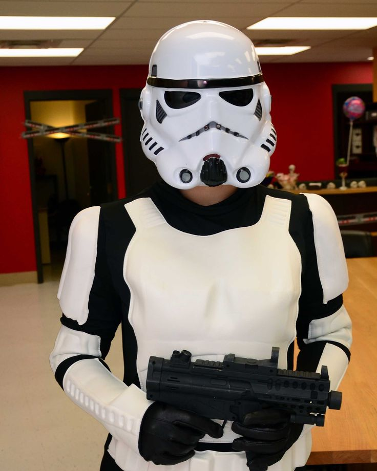 Storm trooper in the house!