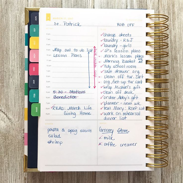 Planning with the Emily Ley Simplified Planner