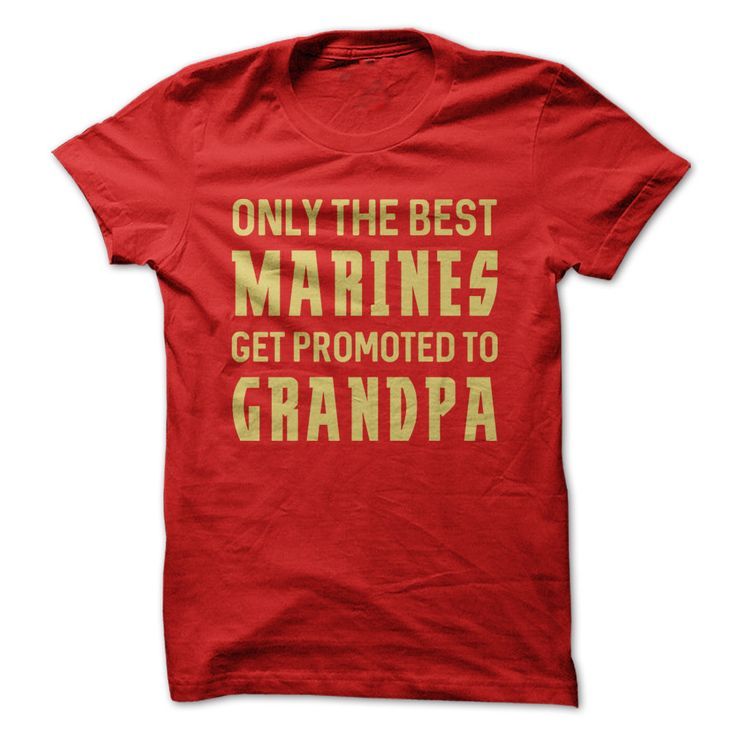 Only The Best Marines Get Promoted To Grandpa
