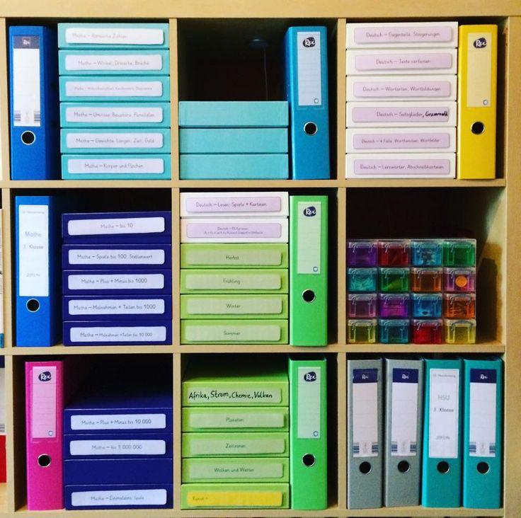 Grundschul_teacher - Montessori & mehr: Vorlagen für die Schachtel - Rücken direkt downloaden