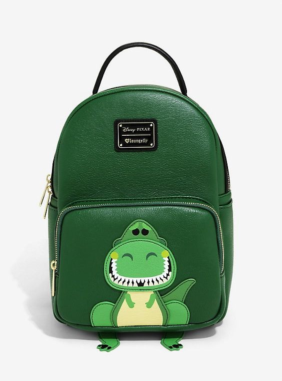 b3ca3dbc706 Loungefly Disney Pixar Toy Story Rex Mini Backpack - BoxLunch Exclusive