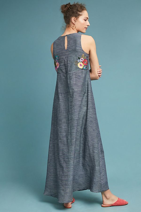b7f5a33fe6a4d Slide View: 3: Gatemore Embroidered Dress - Anthropologie