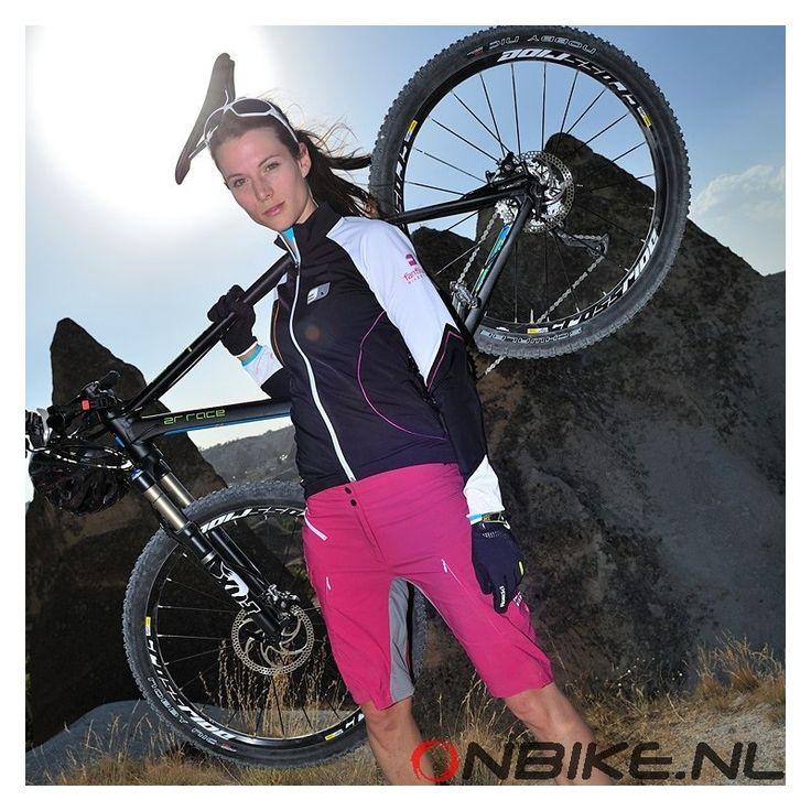 "Fanfiluca dames fietskleding windjack ""Alto Piano Nero"""