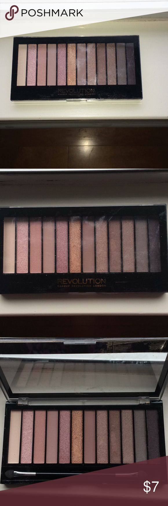 NEW makeup revolution London eyeshadow palette BRAND NEW never before used makeup revolution London Iconic 3 redemption eyeshadow palette Makeup Revolution London Makeup Eyeshadow