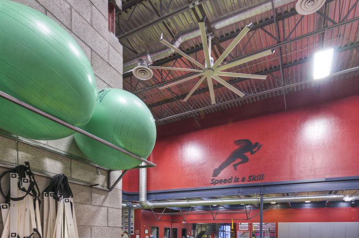 Large, Quiet HVLS Ceiling Fans for Specialty Gyms & Yoga   Big Ass Fans