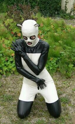 65 best images about rubber on pinterest latex latex dress and celebs - Panda team leader costume ...