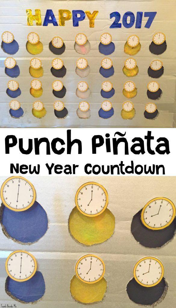New Year Countdown Punch Pinata | New years countdown ...