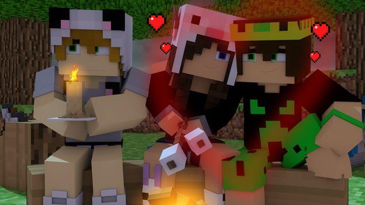 Minecraft: OUTRA VIDA #21 - ACAMPAMENTO ROMÂNTICO! (Romantic Camp)