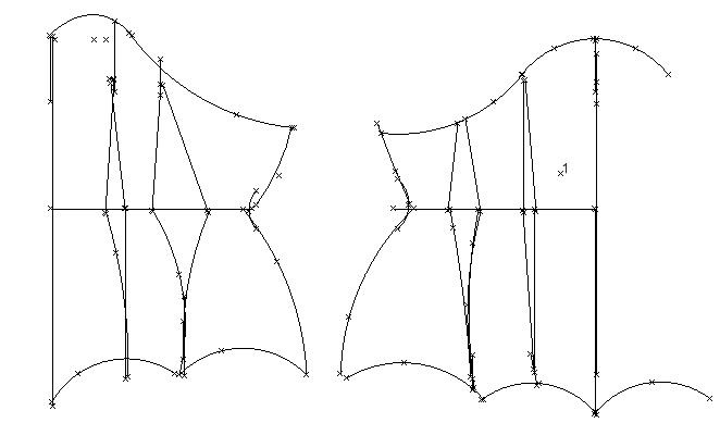 underbust pattern - by waisted creations MMC.wish i could draw my patterns up like this