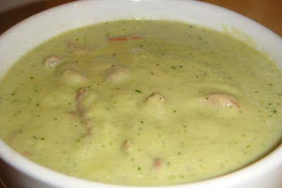Receitas Low Carb: Sopa verde cremosa