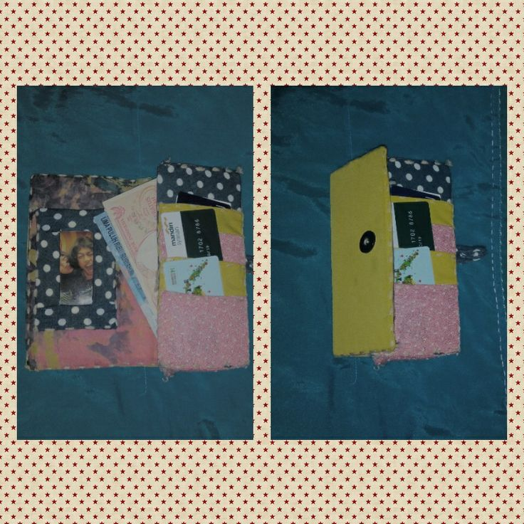 My latest DIY project a mix pattern wallet.