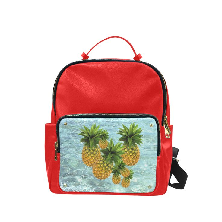 Pineapples Campus backpack/Large. #FREEShipping #artsadd #lbackpacks #fruits