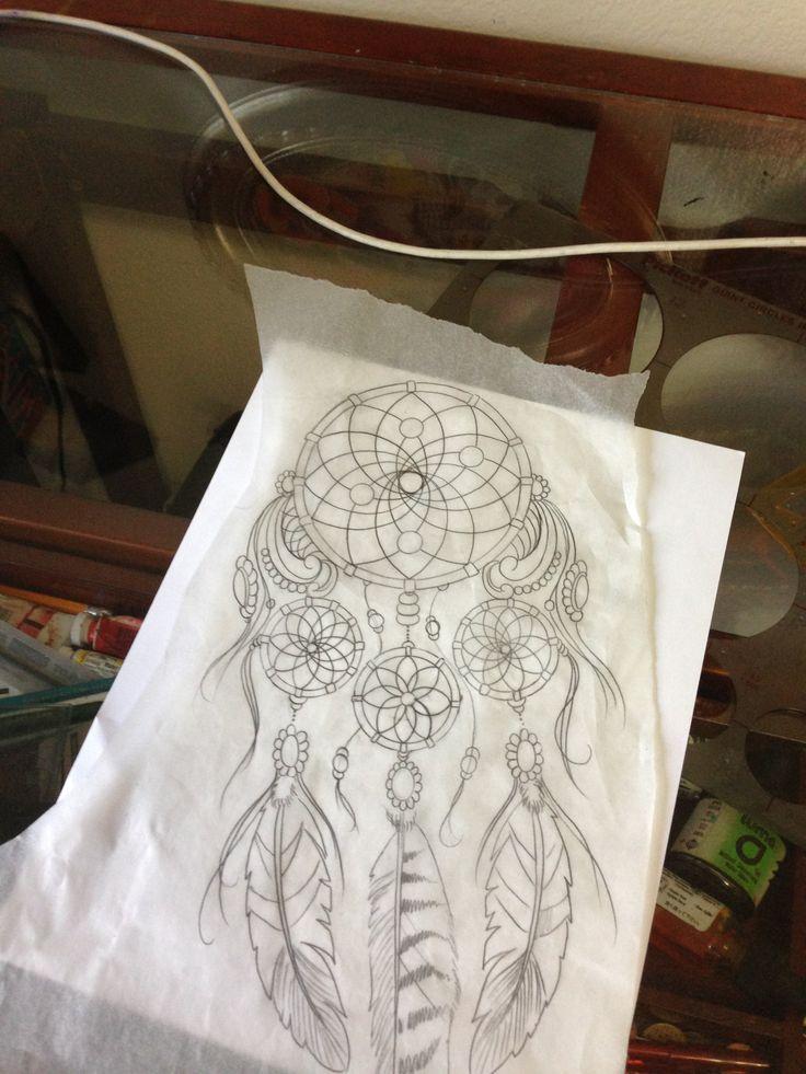 Dream Catcher drawing