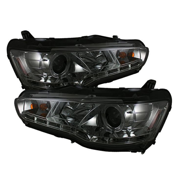 2008-2012 Mitsubishi Lancer Smoke Projector Headlights