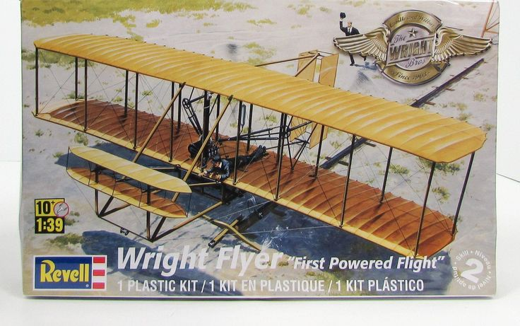 Wright Flyer First Powered Flight Revell 85-5243 1/39 New Model Airplane Kit