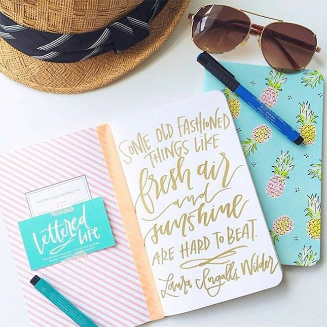 Follow this Instagram for some serious hand-lettering envy.