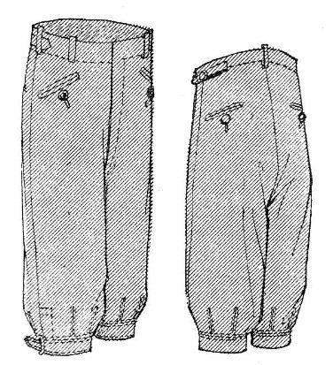 Einfach zum Anbeißen! Schnittmuster für lässige Knickerbocker, die in den 1920er Jahren ein Renner bei der Herrenwelt waren. Sie eignen sich für Sport, Freizeit oder den Alltag. Die weiten Hosenbei…
