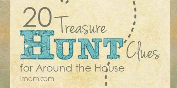 10 Treasure Hunt Clues                                                                                                                                                                                 Más