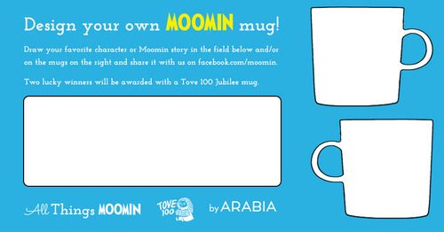 Design you own Moomin mug!