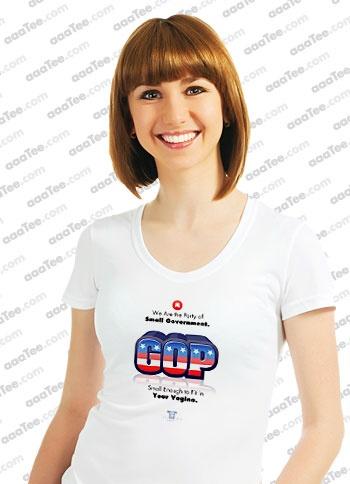 The anti GOP t shirt that makes their agenda very clear...