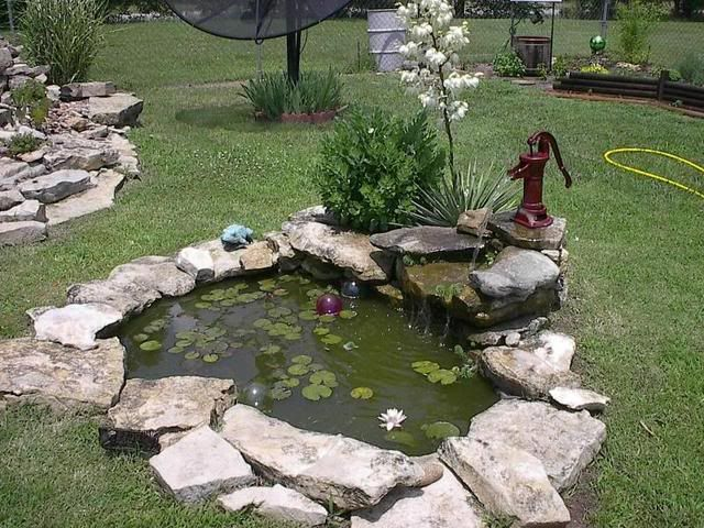 Old Pump Fountain Into Pond Garden Water Features Pinterest Pump Medium And Ponds