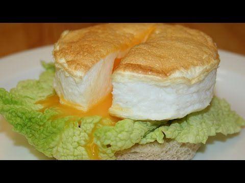Воздушная яичница рецепт. Как приготовить вкусные яйца - YouTube