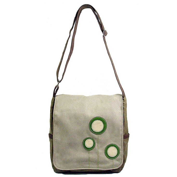 Paradise Garden Canvas Bag