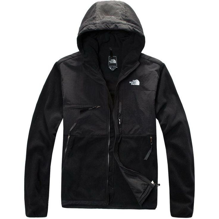 0879e391329e ... flexible The North Face Denali Hoodie Jacket Mens Black ...
