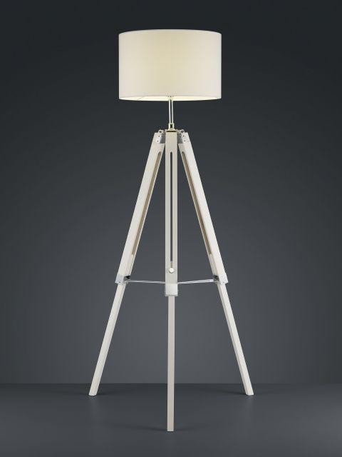 GENT Trio - stojan.lampa - 1100-1550mm - drevo+textil