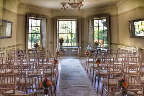 We think our #ceremony room looks georgous for a small intimate ceremony of up…