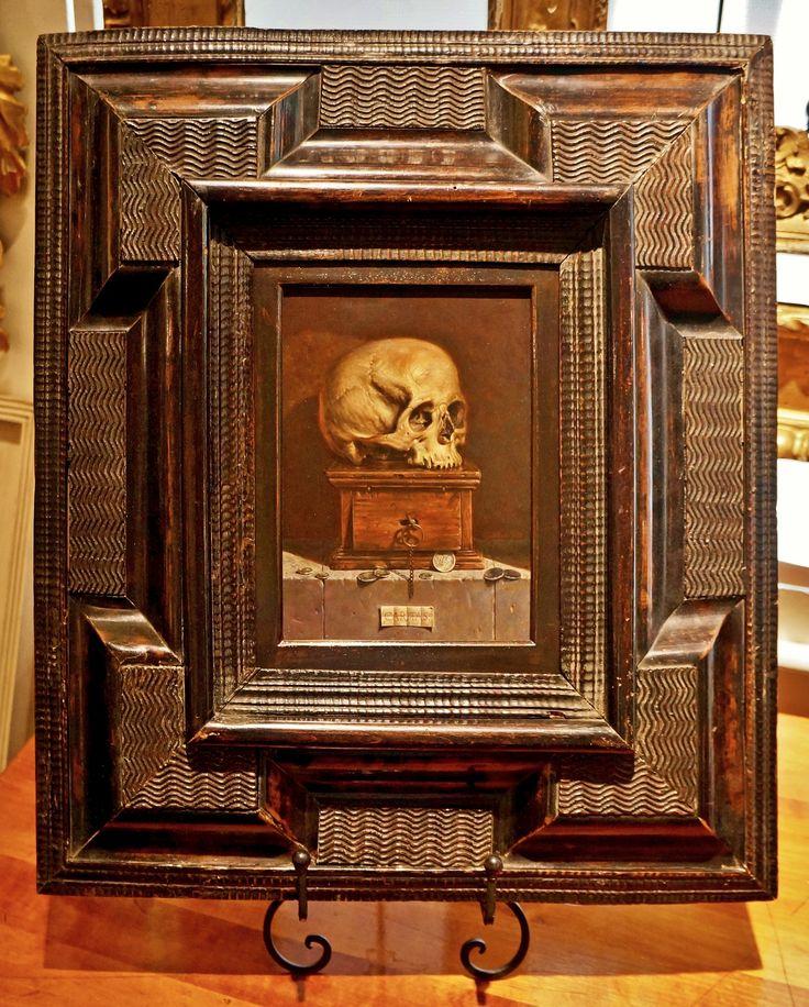 Dutch Century - 8 x 6 - 5 wide - Painting by Federico Castelluccio