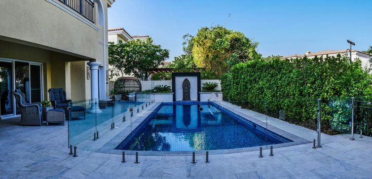 Landscaping Company Dubai | Dubai garden, Swimming pool ...