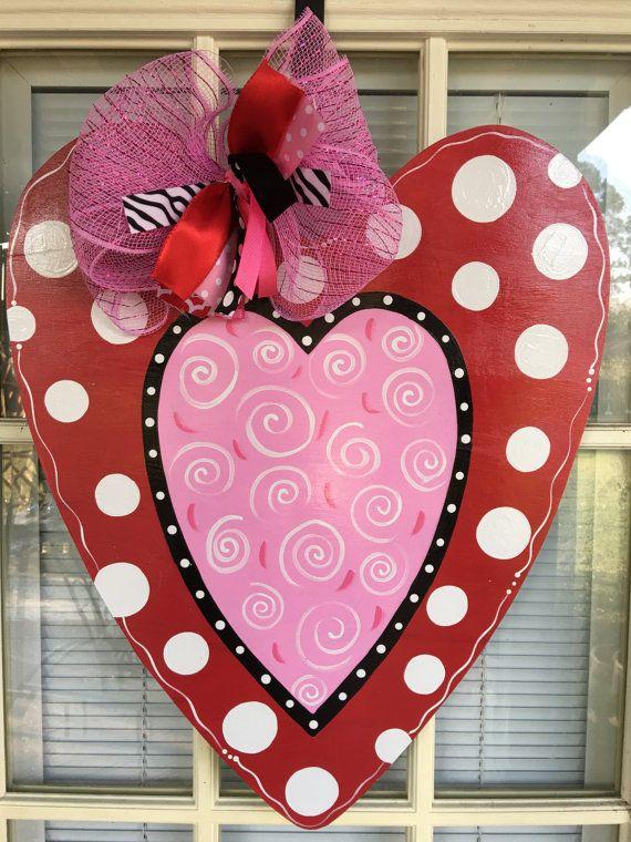 120 best valentine door hangers images on Pinterest ...
